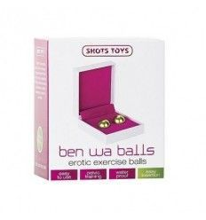 Ben wa balls gold by shots