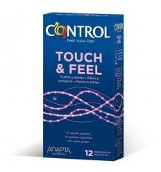 Preservativos Control Touch and Feel 12 unidades