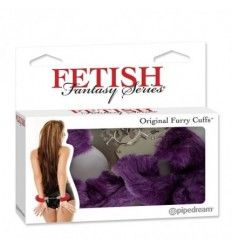 Fetish fantasy esposas estampado lila